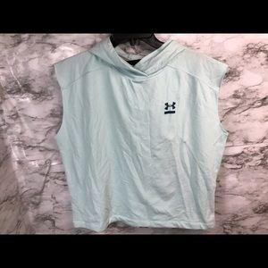 Under Armour Sleeveless hoodie Womens Small